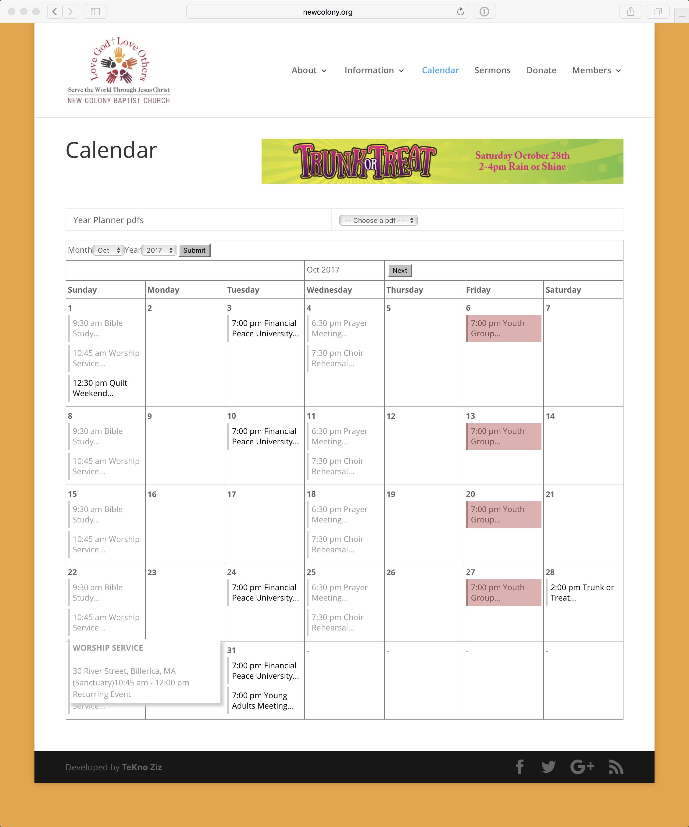 NCBC 2-Calendar