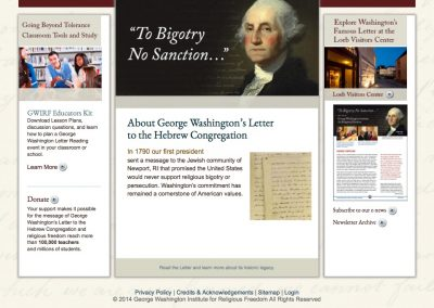 George Washington Institute for Religious Freedom