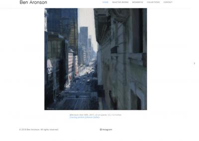 Ben Aronson – Artist